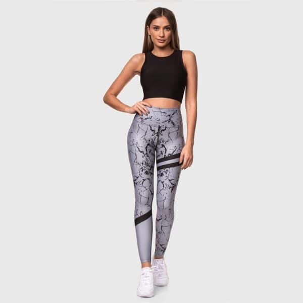 High Waisted Sports Tights 2102